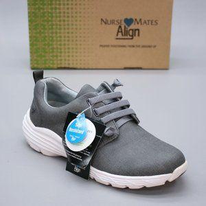 Nurse Mates Ladies 8 M Velocity Align Grey Comfort